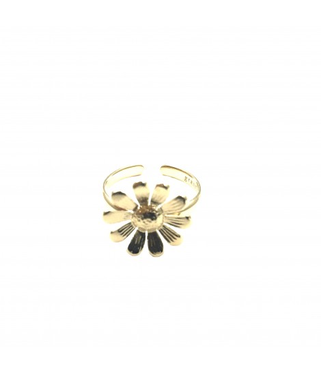 anello margherita GRANDMOTHER metallo dorato one size