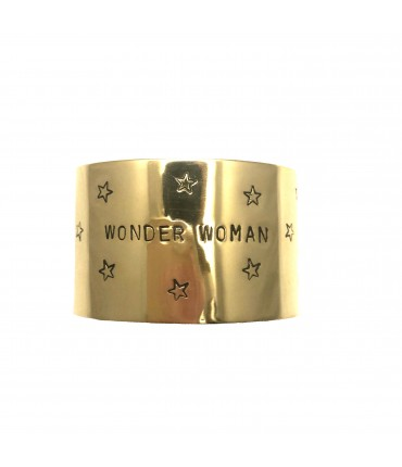 "bracciale alto LABODIGIO' ""wonder woman"" inciso a mano"