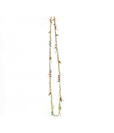 Carla Perretti long necklace baguette